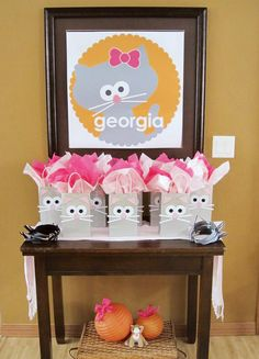 Cute Kitty Cat Party {Girls Birthday} - Many great ideas for a purrrrrrrfect party :-)