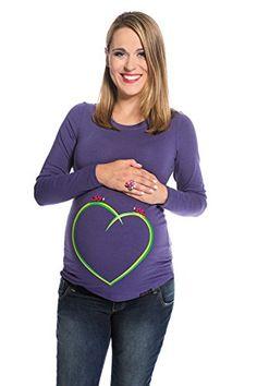 My Tummy Maglietta premaman Coccinelle su un cuore viola M (medium) My Tummy http://www.amazon.it/dp/B00NMN8J2S/ref=cm_sw_r_pi_dp_UM-Owb1GGJPCC