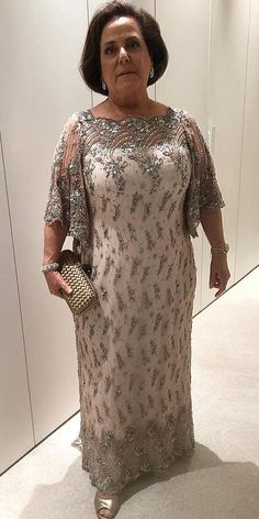 18 Stunning Plus Size Mother Of The Bride Dresses ❤ plus size mother of the br. 18 Stunning Plus Size Mother Of The Bride Dresses ❤ plus size mother of the bride dresses sheath with cape sleeves beaded paulodolce ❤ Mother Of The Bride Plus Size, Mother Of The Bride Dresses Long, Mother Of Bride Outfits, Mothers Dresses, Long Mothers Dress, Brides Mom Dress, Bride Groom Dress, Groom Outfit, Vestidos Plus Size