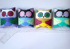 Please buy my boxes!  Printable download to make owl decorated pillow by PrintableRosie, £1.50