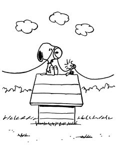 Snoopy and Woodstock - 11