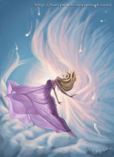 "Elements Air:  ""Dance of Creation: Air Goddess,"" by faerywitch, at deviantART."