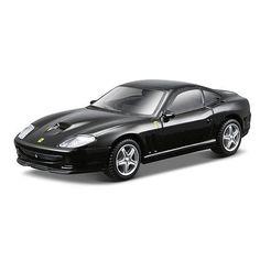 Bburago Ferrari Series Race and Play 1:43 Scale Ferrari Diecast Car- 550 Maranello Black Ferrari $9.99  #Sale
