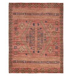 Adair Hand-Knotted Rug - Rust - Home Decor - Rugs - Rejuvenation Wall Carpet, Rugs On Carpet, Cheap Carpet, Carpets, Stair Carpet, Room Rugs, Rugs In Living Room, Area Rugs, Houses