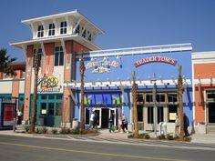 Pier Park, Panama City Beach, FL Just a short walk from our motel  love love love