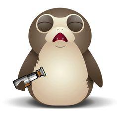 Image result for porg emojis