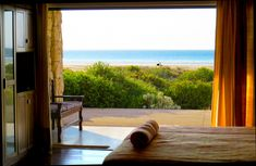 Paternoster beachfront from Deja-vu luxury suite Wedding Venues Beach, Family Room, Curtains, Luxury, House, Home Decor, Blinds, Decoration Home, Home