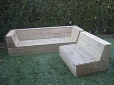 Afbeeldingsresultaat voor zelf steigerhouten hoekbank maken met opbergruimte
