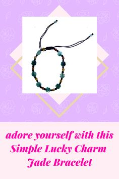 Looking for faith, hope, love, and luck? Bring these qualities into your life with the four-leaf-clover bracelet! Four leaf clover shape alternate with jade beads throughout the bracelet to give it a unique and colorful look that can be worn with any piece in your wardrobe.