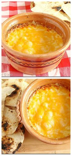 Warm Feta Cheese Dip | another pinner says: The best cheese dip, ever!