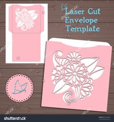 stock-vector-lasercut-vector-wedding-invitation-template-wedding-invitation-envelope-with-flowers-for-laser-500309560.jpg (1500×1600)