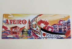 AVEIRO • License Plate Cities Tourism PORTUGAL | Metal Sign Vintage Decor (new) #Unbranded #VintageRetro Etsy Vintage, Vintage Decor, Vintage Metal Signs, Tin Signs, Decoration, Tourism, Plates, Cities, Tracking Number