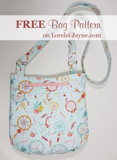 Free Bag sewing pattern, free sewing tutorials