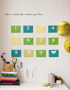 Cute Envelope Surprise Cute idea!