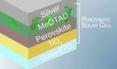 Silver: The Promising Electrode for Low-Cost Perovskite Solar Cells