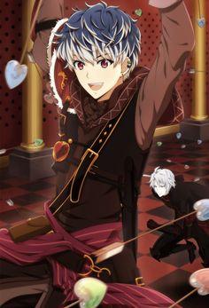 Elzyr and Damon's son c: Manga Anime, Manga Boy, Anime Art, Hot Anime Boy, Cute Anime Guys, Anime Boys, Grimgar, Wallpaper Animes, Handsome Anime Guys
