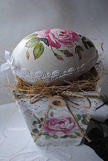 Decoupage, Jar, Spring, Home Decor, Easter Activities, Decoration Home, Room Decor, Home Interior Design, Jars