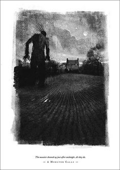 From a Monster Calls: illustrated by Jim Kay and written by Patrick Ness