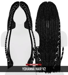 YOHANNA HAIR V2 NEW MESH Compatible with HQ Mod Custom Thumbnail All LOD's ♦ @redheadsims-cc tag on your photos, and let me see! thx. ❥ DOWNLOAD - IN MY BLOG (no adfly) ♡ SUPPORT ME [PAYPAL:...