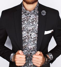 The Auckland poplin button-down shirt, a dapper yet casual look! www.GrandFrank.com