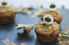pequeño monstruo: ENTEROS muffin de calabaza TRIGO CHOCOLATE CHIP por yvonne
