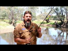 Murray cod surface fishing, using the dead hands technique - YouTube
