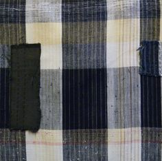 Sri | A Contrasting Length of Zanshi Cotton: Patched