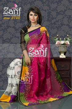 Zarif Fashion and Crafts , Eid fashion 2015, Latest jamdani saree, muslin saree, silk saree, Bangla new Year saree, Boishakhi saree 2015, Boishakhi Collection 2015, bridal sharee from bangladeshi fashion house, salwar kamiz