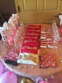 "Pink ""Sweet 18"" theme"