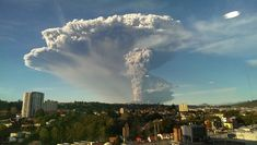 15+ Breathtaking Pics Of Volcano Eruption In Chile That Forced 4,000 To Evacuate