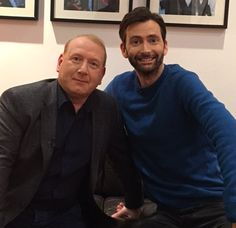 VIDEO & PHOTOS: David Tennant & Adrian Scarborough On The One Show David Tennant returns to the West End stage this month as the lead in Don Juan In Soho at Wyndham's theatre in London, directed by Patric...