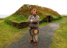Discover L'Anse Aux Meadows in Saint Lunaire-Griquet, Newfoundland and Labrador: An ancient Viking village in North America that predates Columbus by 500 years. Casa Viking, Viking House, Viking Life, Newfoundland Canada, Newfoundland And Labrador, St Anthony Newfoundland, L'anse Aux Meadows, Gros Morne, Viking Village