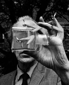 Duane Michaels, Joseph Cornell, 1969  Two of my all time favorite creative geniuses.