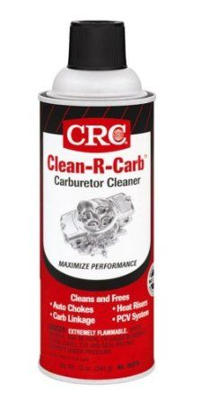 CRC 05079 Clean-R-Carb Carburetor Cleaner - 12 Wt Oz. : Amazon.com : Automotive for cleaning oil stains from flagstone?