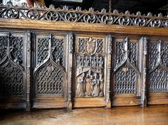 Gothic section of furniture