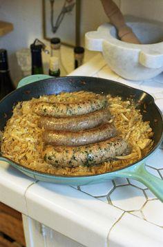 Sausages and Sauerkraut