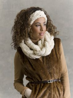 Balzac Braided Cowl & Headband in BIG MONTANA    http://www.ravelry.com/patterns/library/balzac-braided-cowl--headband