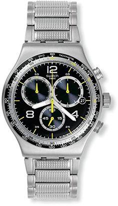 Swatch Sprinkled Water Men's Watch - Blue. YVS411G. Chronograph. Quartz. Men.