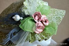 Beautiful spring hat by @Jane Tregenza! From our Scrapbook Adhesives Blog Hop!