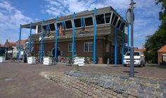 VMH5-2372 Restaurant aan de haven van Enkhuizen