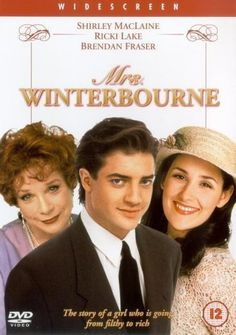 "Mrs. Winterbourne ~ ""Connie Doyle is eighteen and pregnant her boyfriend has kicked her out. She accidentaly ends up on a train where she meets Hugh Winterbourne and his wife Patricia who is pregnant..."""