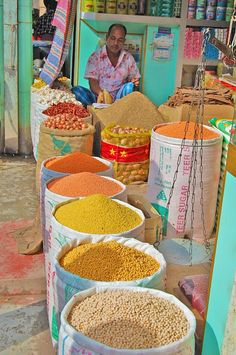 """""""Dhaka Spice Market""""  Bangladesh Copyright 2009 Briana Johnson"""