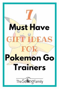 Got any Pokemon Go Trainers in your life? Maybe it's you who is catching them all! We have compiled a list of the 7 must have gifts for any pokemon trainer. Don't forget the team specific so everyone knows if you are team valor, team mystic or team instinct. Maybe you even chose based on color :) Go Red, Blue or Yellow! #PokemonGo