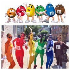 m&m's group costume - bay to breakers, San Francisco 2014