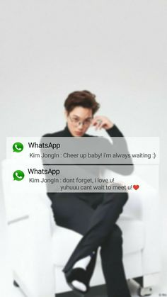 Lockscreen message from Kai Kim JongIn ♥♥♥ Kyungsoo, Chanyeol, Exo Imagines, Message Wallpaper, Boyfriend Kpop, Exo Album, Exo Lockscreen, Rap Lines, Kpop Exo