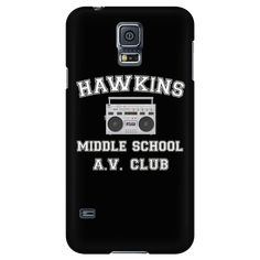 Stranger Hawkins Middle School Smart Phone Case for Women Men Kids Things A V Club