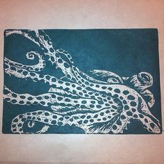 Octopus print by @lorene16 on Instagram