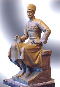Adyghe (Circassian) man of Kabardian tribe. СТАНОВЛЕНИЕ ИЗОБРАЗИТЕЛЬНОГО ИСКУССТВА КАБАРДИНО-БАЛКАРИИ.