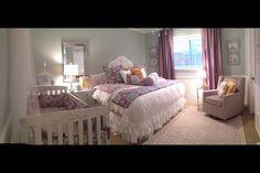 Nursery/guest room Pottery barn brooklyn bedding
