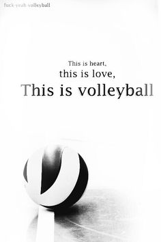 I <3 volleyball